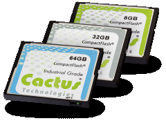 industrial CF cards from Cactus