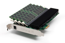DDRdrive X1 PCIe SSD - click for more info