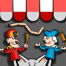 StorageSearch.com article image - punch and judy -