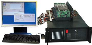 7 way Serial SCSI disk duplicator / sanitizer from ICS