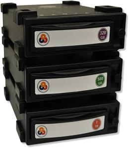 stack of Bantam cartridges  view - click for more info