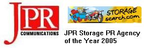 JPR is the Storage PR Agency of the Year 2005