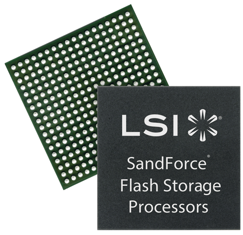 lsi SandForce SSD processors - click for more info