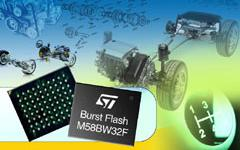 news image STMicro automotive flash