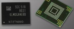 3d BGA SSD for phones from Samsung