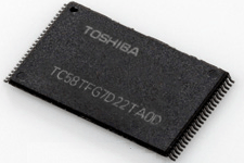 Toshiba 3D flash