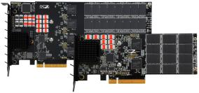 image shows Z-Drive R4 f- one of the world's fastest PCIe SSDs -  designed by OC