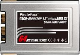 "PhotoFast Announces Faster 1.8"" Notebook SSDs"