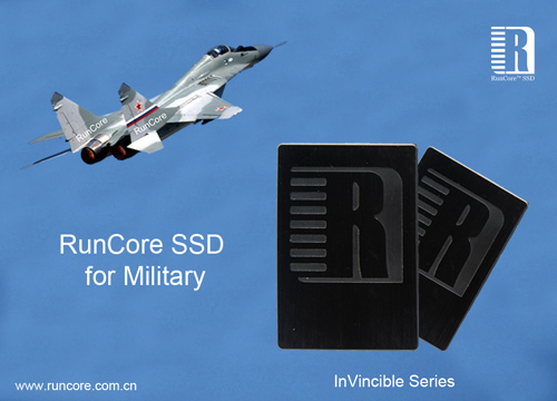 RunCore SSDs for military applications - click to see more info