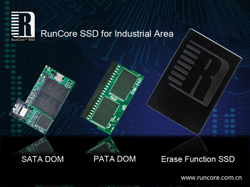 SATA & PATA DOMs & industrial SSDs from RunCore - click for more info