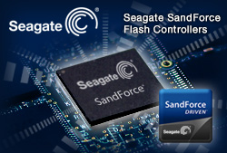 Seagate SandForce SSD processors - click for more info