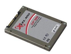 click to see more info about the Xcel-10 SSD tested to MIL-STD-810F with good random IOPS in small blocks performance - from Smart / Adtron